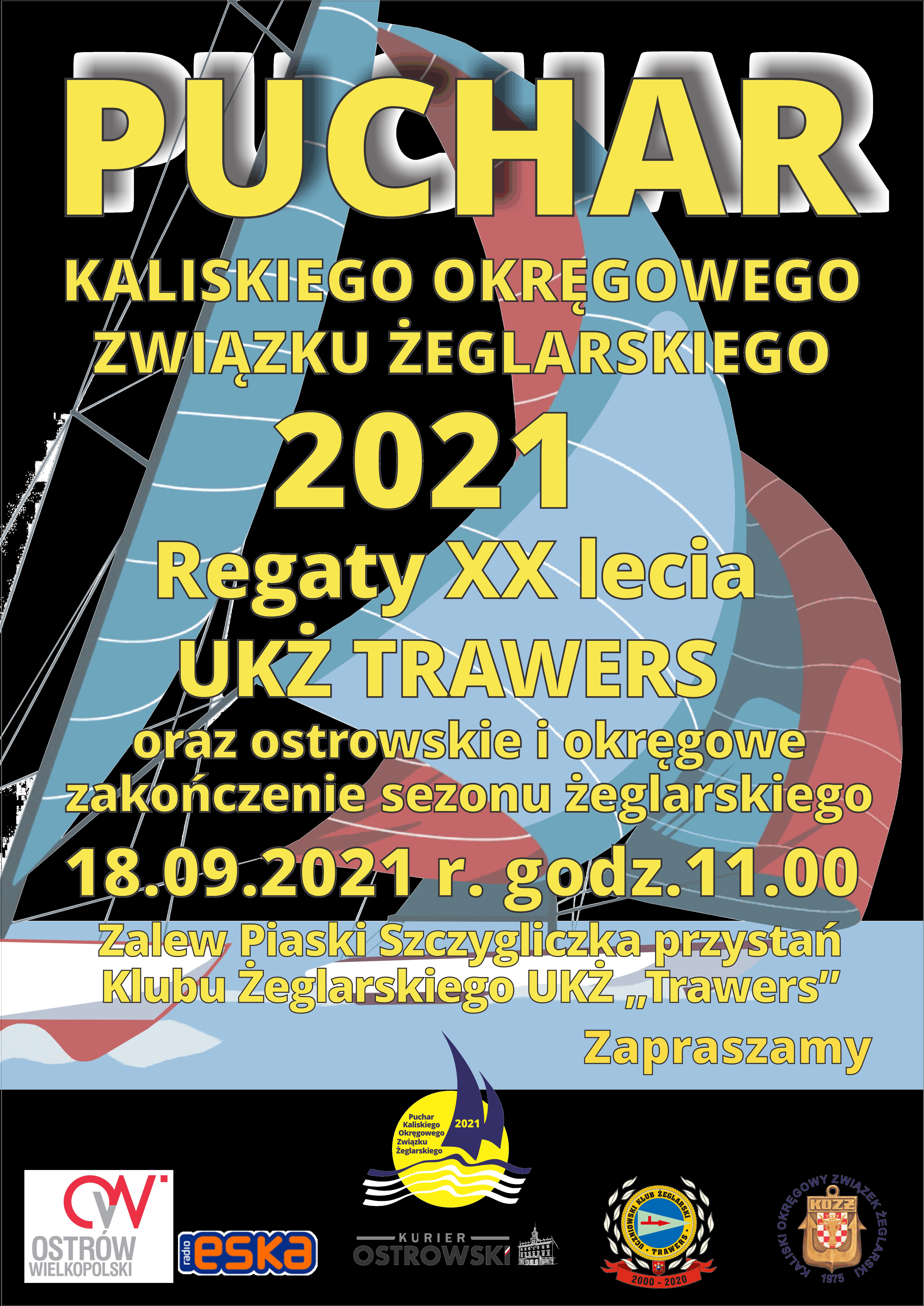 plakat zakończenie sezonu kozż 2021. trawers